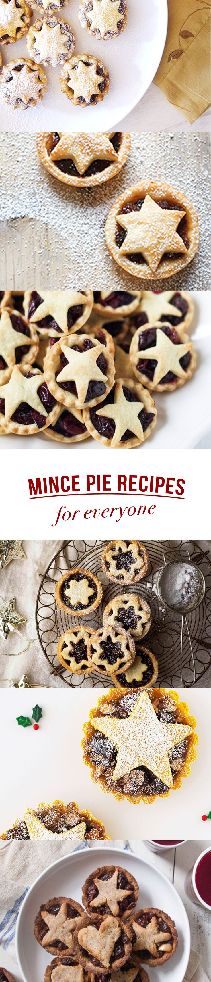 Paleo? Dairy-free? Vegan? Gluten-free? Or just a regular old fashioned mince pie? No matter what your preference, we've got a mince pie recipe for you!