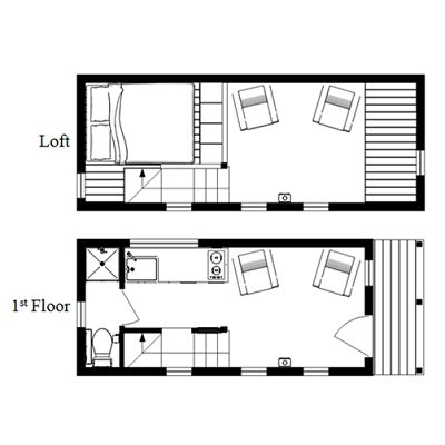 images about Tiny House Layouts on Pinterest   Small places    Every week I like to show you a different option for tiny house plans  Many of my new favorites are coming from a company called Humble Homes