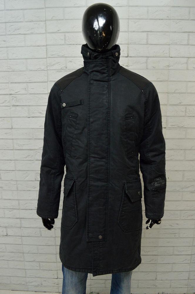 brand new 51b51 d97af Dettagli su Cappotto G-STAR Uomo Taglia Size L Giacca Jacket ...