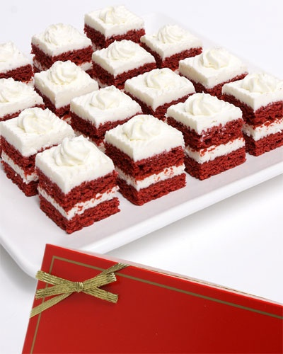 Red Velvet Mini Bites Set.