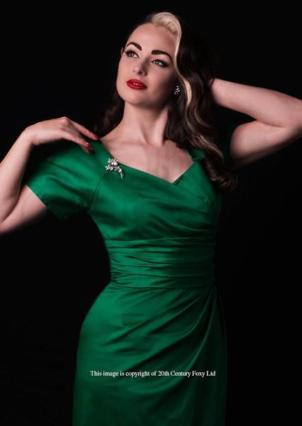 Dolce Vita Dress, Emerald