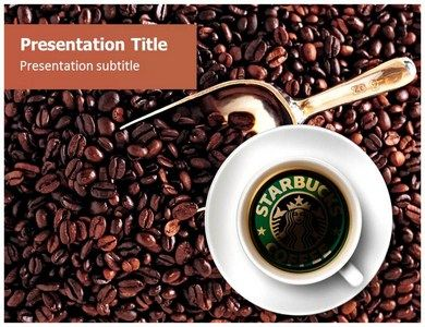 Download Online Starbucks Coffee Powerpoint Template and Background with high quality at affordable price- http://goo.gl/tg4LZE