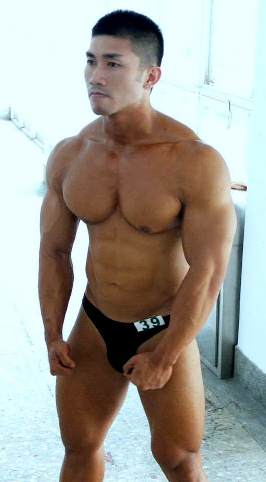 Creampie asian man muscular normally