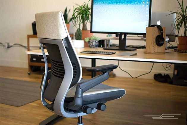 The Best Office Chair | The Steelcase Gesture has a wider range of more easily accessible adjustments than any other chair, so you feel fully supported in almost any position.
