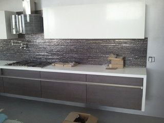 Contemporary Kitchen Backsplash 7 best cool kitchen backsplash images on pinterest | kitchen