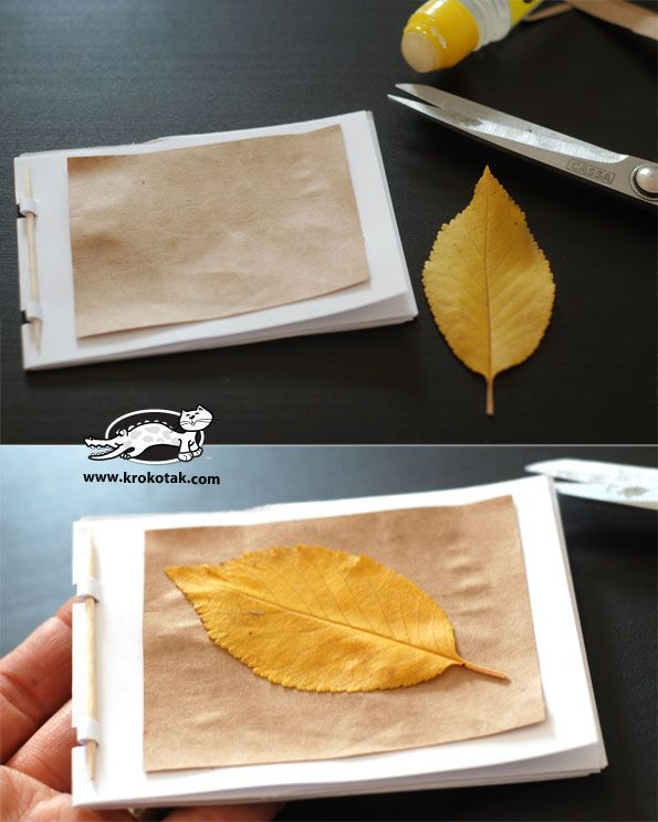 Small book for kids - DIY