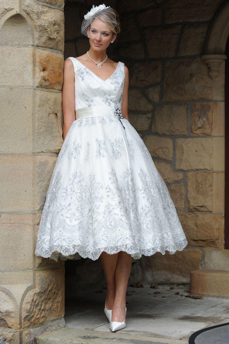 61 best Tea length Wedding dresses images on Pinterest | Brides ...