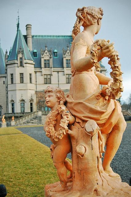 statue at biltmore estates by Tariq19, via Flickr