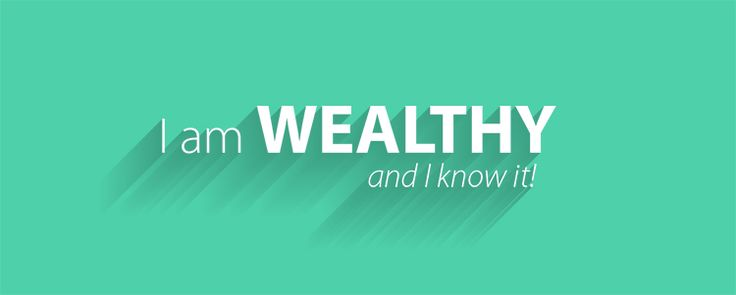 I am WEALTHY and I know it! :: #affirmations #lawofattraction