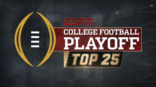 Watch live: First College Football Playoff rankings revealed #FansnStars