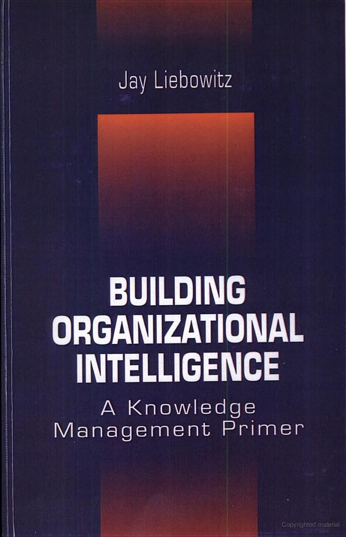 20 best knowledge management images on pinterest knowledge bulding organizational intelligence a knowledge management primer jay liebowitz aim2win fandeluxe Image collections