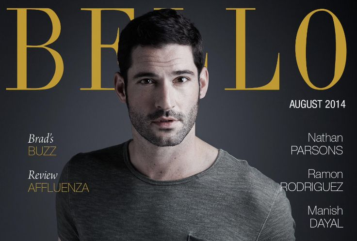 Bello Mag Entertainment: 'The Doctor Is In' Tom Ellis Issue #61