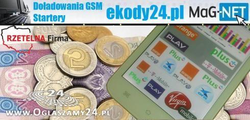 Doładowania GSM i Startery z rabatami na każdą kieszeń