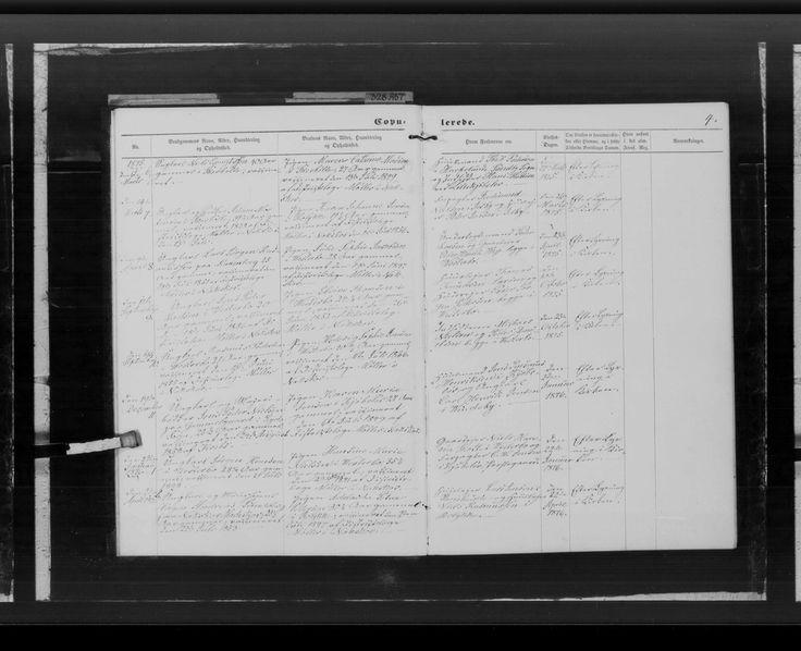 Julie Sophie Jacobsen vielse  - Danmarks kirkebøger, 1813-1919 - MyHeritage