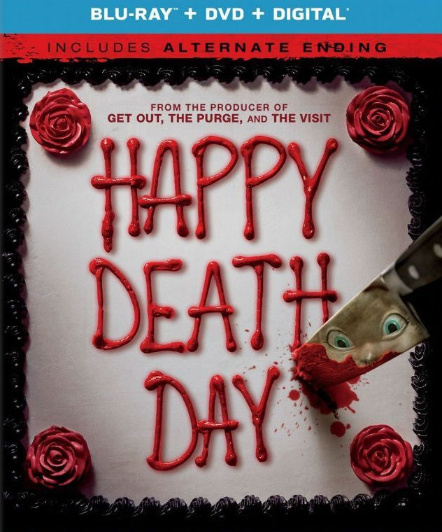 BLU-RAY / DVD: Happy Death Day. STARRING: Jessica Rothe, Israel Broussard, Ruby Modine, Rachel Matthews, Charles Aiken. DIRECTOR: Christopher B. Landon. WRITER(S): Scott Lobdell. PRODUCER(S): Jason Blum. STUDIO: Universal Pictures. GENRE: Horror, Thriller, Mystery. RATING: PG-13. RUNTIME: 96 Min. FORMAT: Blu-Ray, DVD, Digital HD. RELEASE DATE: 1 / 16 / 2018.