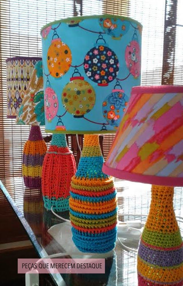 yarn bomb that really old lamp?