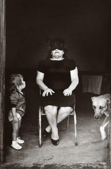 Doña Guadalupe, Juchitán, Oaxaca, México, 1986