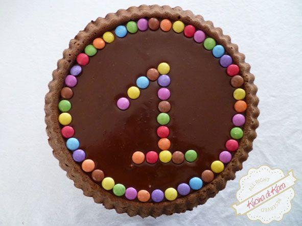 Kucina di Kiara: Food Blog a cura di Chiara Rozza: TORTA al CIOCCOLATO per il primo compleanno di Iris