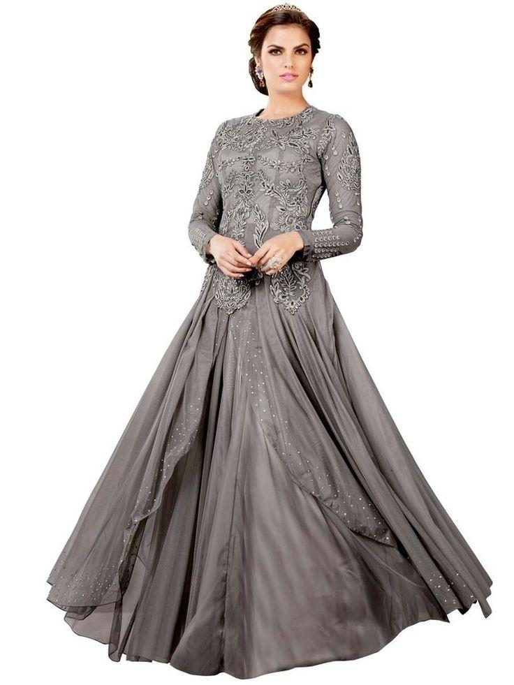 New Partywear Designer Long Dress & Indain Pakistani Bridal Gown