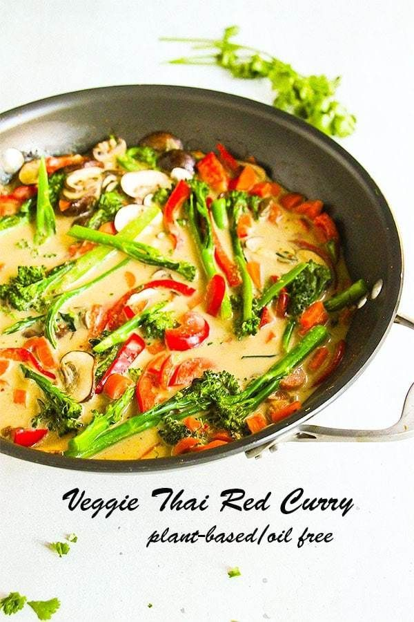 Veggie Thai Red Curry Another Music In A Different Kitchen Recipe Curry Recipes Whole Food Recipes Red Curry Recipe