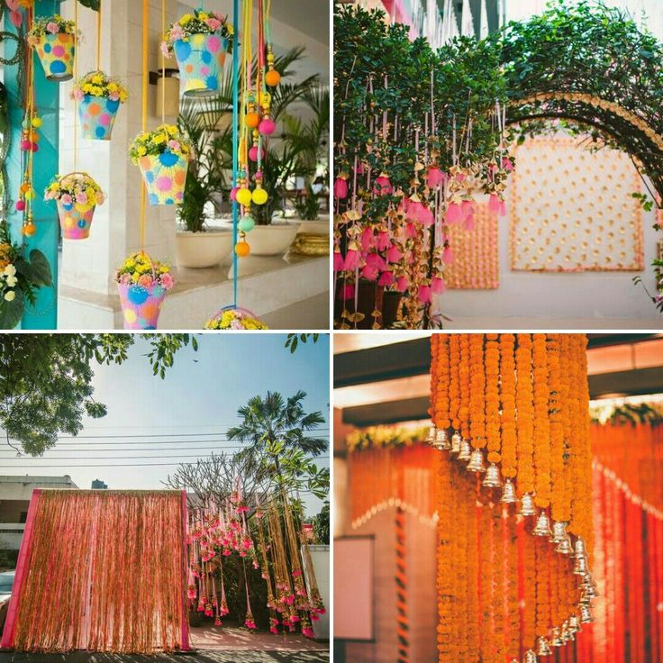 Shaadi ka Ghar should look like one! Adorned with beautiful marigold, drapes, seasonal floral fillers and decorative props, welcome your family and friends on the wedding. #InspiredWeddingDecor #Kanpur #weddingplanning