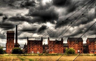Abandoned Maltings in Sleaford, Lincolnshire. Built by Bass Breweries at the start of the 20th century and were the largest of their kind in the country. More link this here http://www.pinterest.com/pushcreativity/boards/