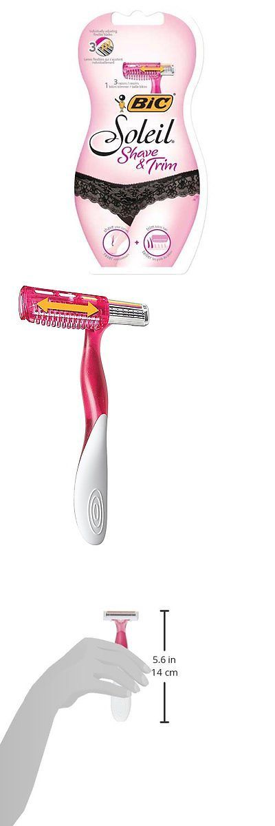 Womens Razors: Bic Soleil Shave And Trim Disposable Razor And Bikini Trimmer, Women, 4-Count -> BUY IT NOW ONLY: $40.37 on eBay!