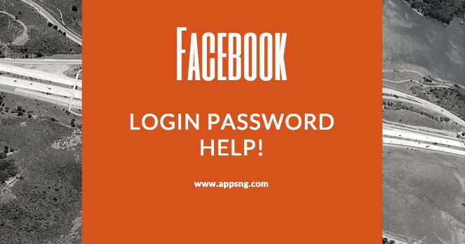 Facebook Login Password Help! - Login Facebook Account Without Password | Sign in Fb Profile Now