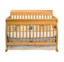 Cadence 4-in-1 Crib - Oak Transitional: Converts from crib to toddler bed, day bed and full-size bed. Brand: babymod JPMA Certified Made of sustainable pine wood Weight limit: 50 lbs.. Lead and phthalate safe Meets and exceeds all safety standards Crib uses a standard size crib mattress Four- level mattress spring system provides ideal suppost as your child grows. Features stationary sides No movi... #Cadence #Baby_Product