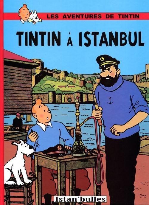 Tintin - Pastiches, parodies & pirates- Tintin à Barcelone   Tintin, Parodie, Bd tintin