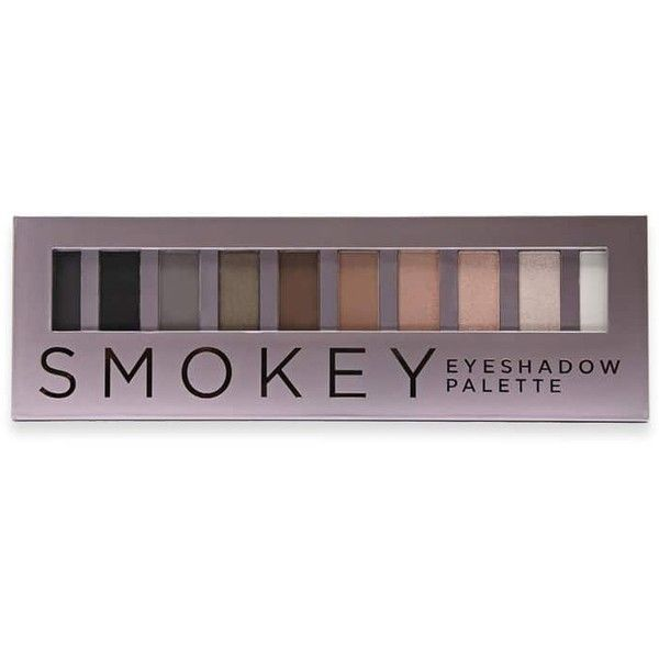 Forever21 Smokey Eyeshadow Palette (105 ARS) ❤ liked on Polyvore featuring beauty products, makeup, eye makeup, eyeshadow, pencil eyeliner, palette eyeshadow, eye pencil makeup and forever 21