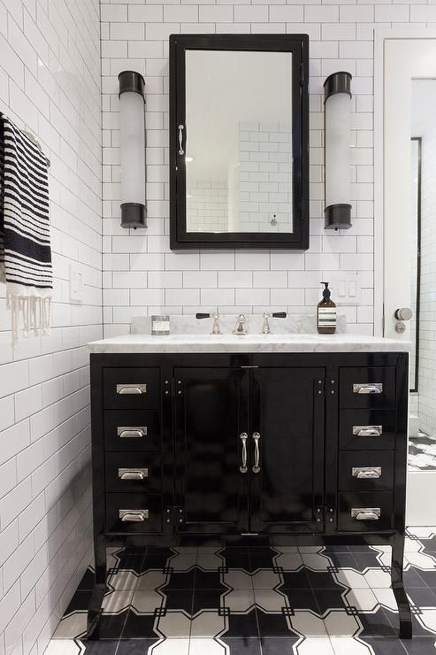 best 25 black medicine cabinet ideas on pinterest shelving in bathroom white bathroom storage and bathrooms with subway tile