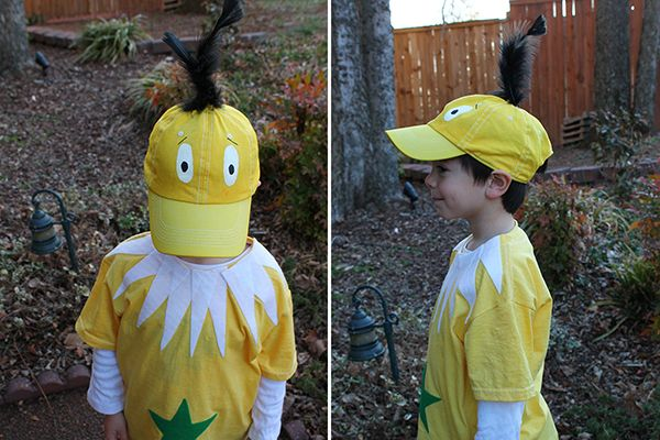 how to make a star-bellied Sneetch Dr. Seuss Costume