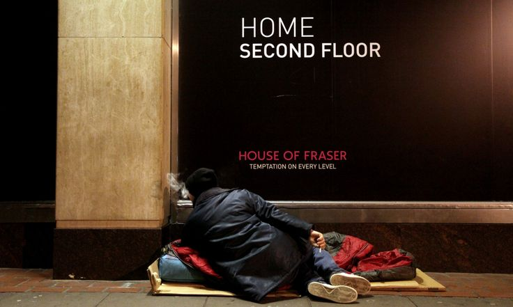 Number of people facing homelessness rose sharply last year but trend has gone unnoticed by politicians or media, says lead author of Homelessness Monitor