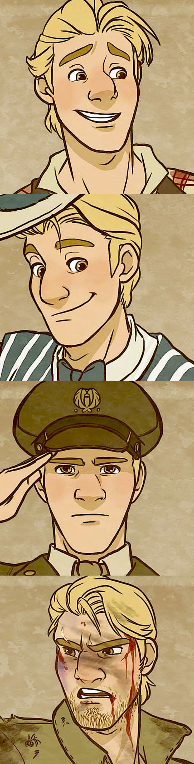 20th Century Kristoff!!! XD Awesome!!!!!