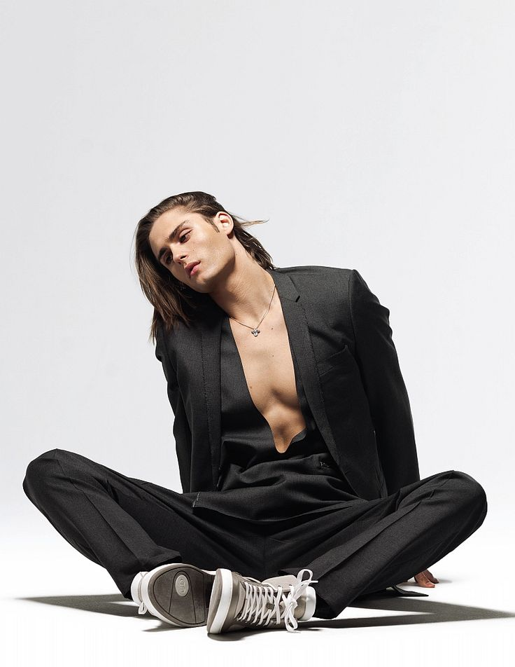 Jacques Naude by Richard Pier Petit in Dior Homme for Fashionisto Print, Issue 1