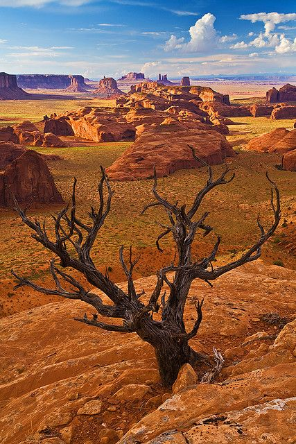 Monument Valley in northeast Arizona
