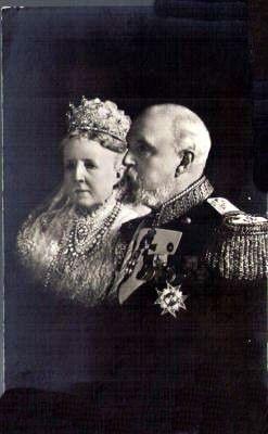 König Oskar und Königin von Schweden, King and Queen of Sweden | by Miss Mertens