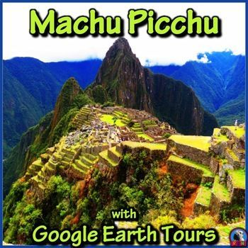Tour Machu Picchu with Google Earth Tours    Make a virtual field trip to one of the world�s most famous landmarks; Machu Picchu. You will be using Google Earth to watch a pre-recorded tour of the lost Incan city located in the Andes Mountains. You will learn about its famous structures like the Temple of the Sun, Royal Palace, Sacred Stone and Intihuatana. by Nygren Resources (Public Domain photo by jdbenthien @ https://pixabay.com/en/machu-picchu-mountain-peru-1631989/ )