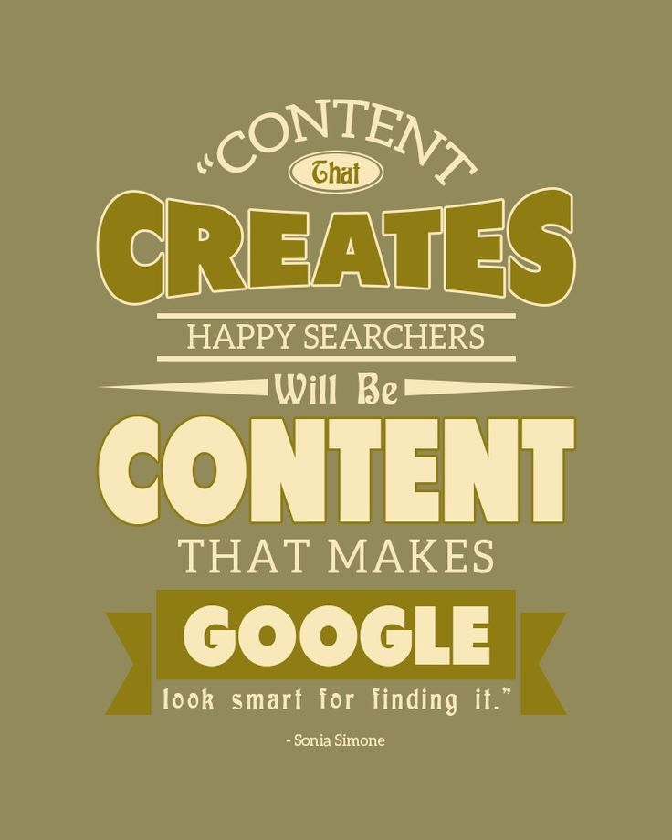 One piece of advice that continues to circulate is to create quality content. This keeps appearing for one great reason: it works.