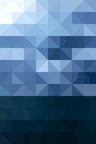 Geometric Print - The Lake Art Print -  Allan Redd#Repin By:Pinterest++ for iPad# http://decdesignecasa.blogspot.