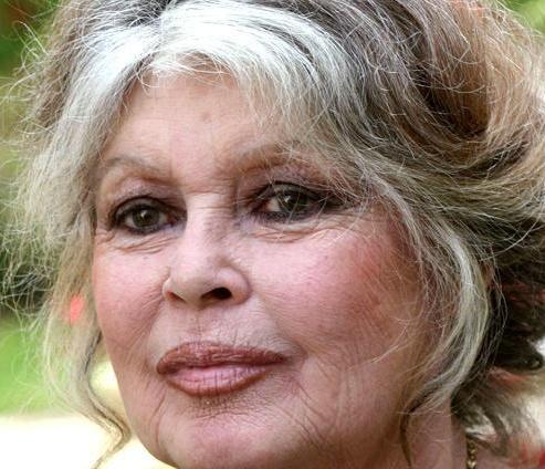 Brigitte Bardot... Ravages of time ? Or graceful ...