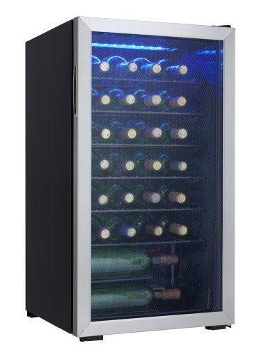 Freestanding Wine Cellars - Danby 36 Bottle Freestanding Wine Cooler * For more information, visit image link.