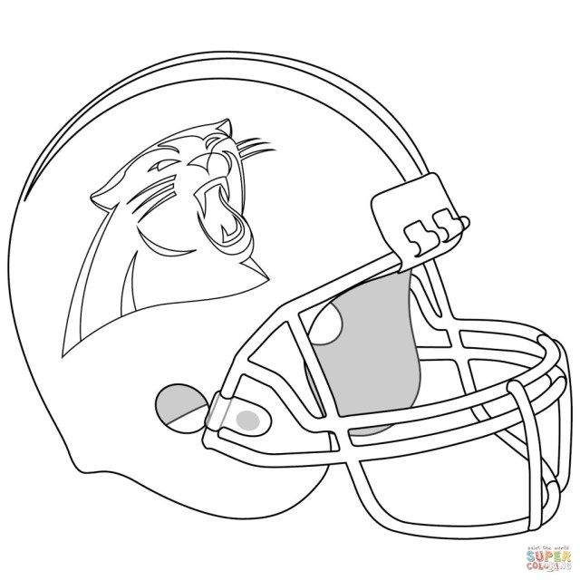 25 Creative Picture Of Football Helmet Coloring Page Albanysinsanity Com Carolina Panthers Helmet Flag Coloring Pages Football Coloring Pages
