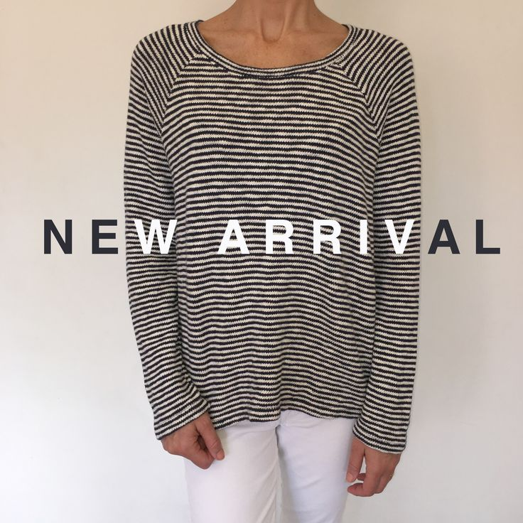 Because no wardrobe is complete without a striped top (or two), we bring you this Sundry beauty. Made with the softest cotton/viscose blend, it's the perfect piece to take you from Autumn right through Winter ✖