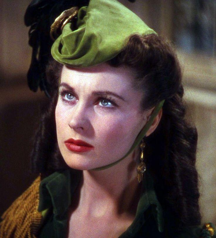 """Vivien Leigh em """"E Tudo o Vento Levou"""" (Victor Fleming, 1939) thelipstickgal.com"""