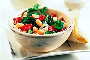 White+Beans+&+Wilted+Spinach+Salad+recipe
