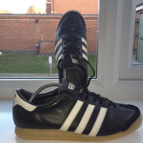 Deadstock Vintage Adidas Mamba Uk 8 made in France athens Amsterdam Berlin