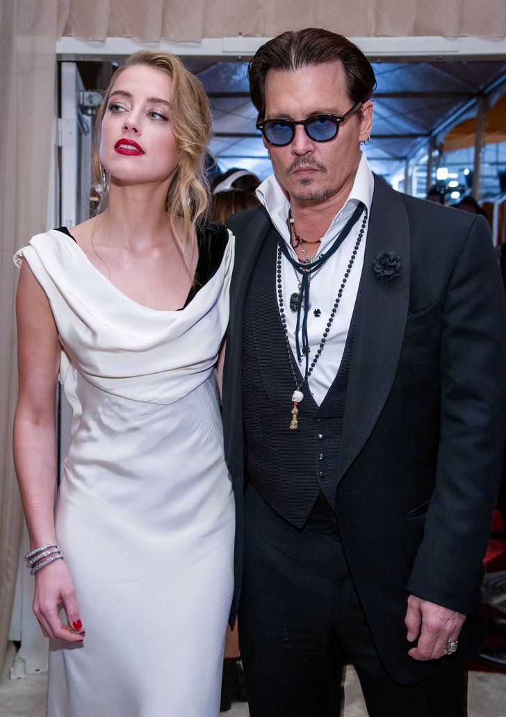 Pin for Later: Johnny Depp and Amber Heard Shake Off Split Rumors With Serious PDA