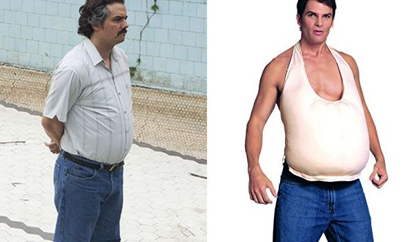 Pablo Escobar (Narcos TV show) Belly